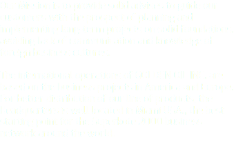 Our Mission is to provide solid advises to guide our customers with the prospect of planning and implementing long-term projects on solid foundations, avoiding lack of communication and knowledge of foreign business cultures. The international operations of GOLDEN OIL INC. are based on the business projects in America and Europe. For better distribution of our line of products, the Headquarters is well located in Miami USA., the best starting point for the Superkote 2000 business network around the world.